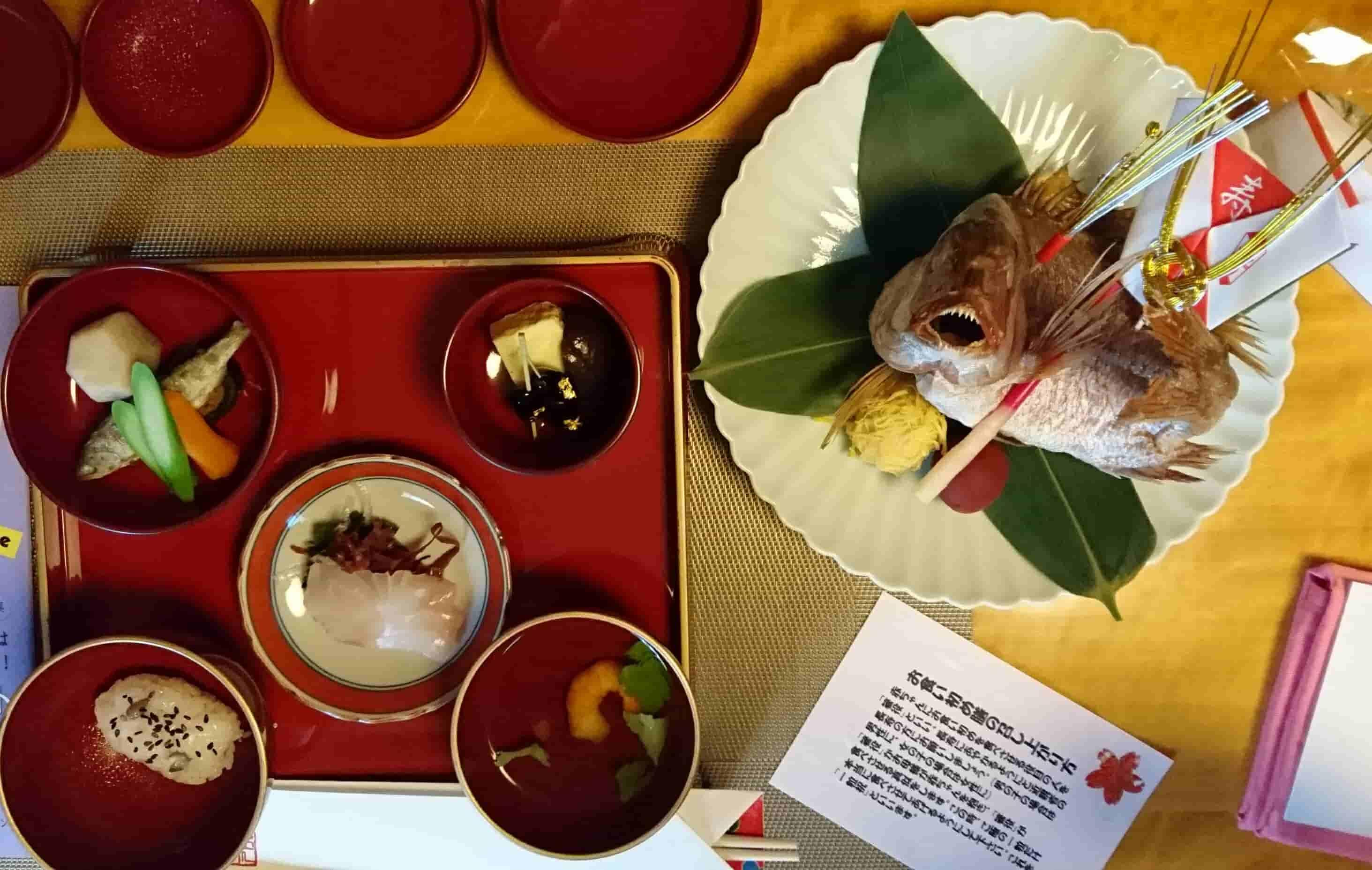 お食い初め 祝い膳の料理内容