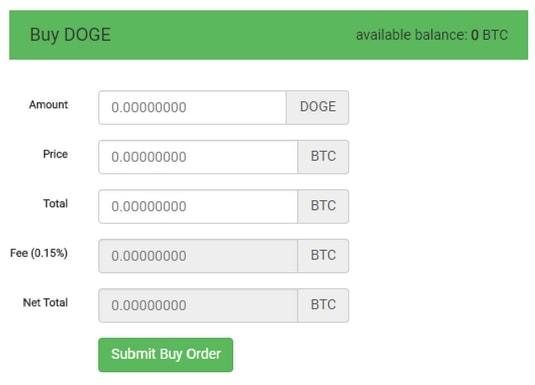 CoinExchange Dogecoin(ドージコイン)・SHDN購入方法