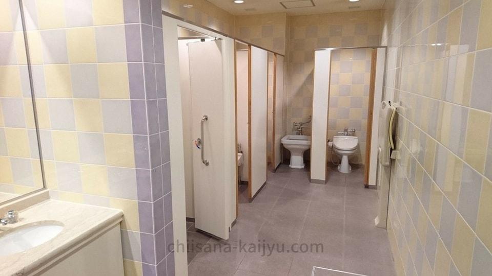【帯広】北海道ホテルの1階トイレ