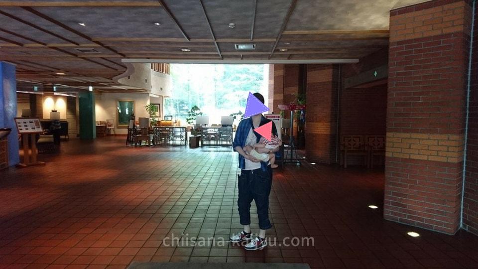 【帯広】北海道ホテルのエントランス