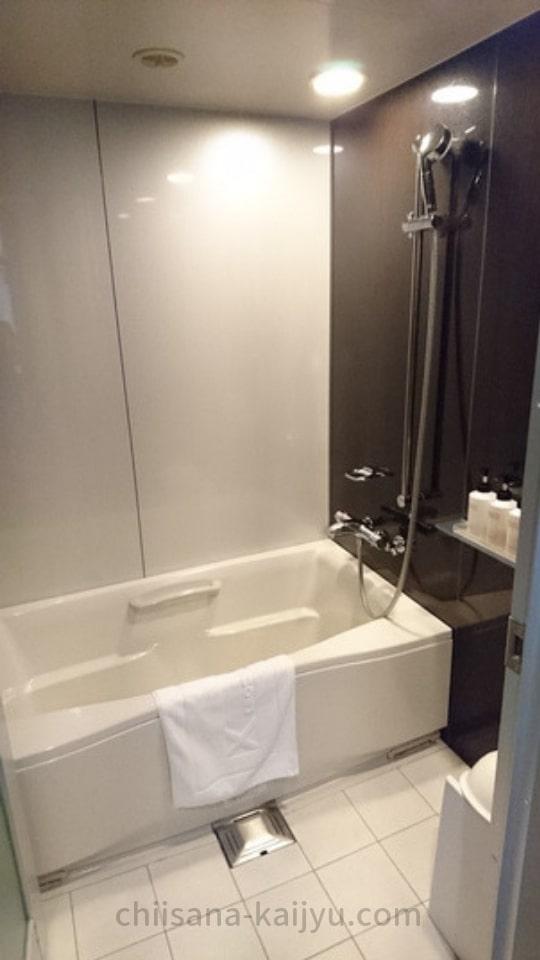 クロスホテル札幌 客室の風呂
