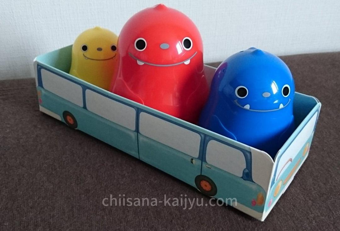 「こどもちゃれんじ ぷち」9月号のおもちゃ(エデュトイ) いろっぴと車